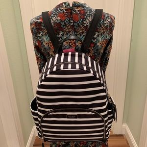Kate spade Large Backpack dawn sailing stripe  bag